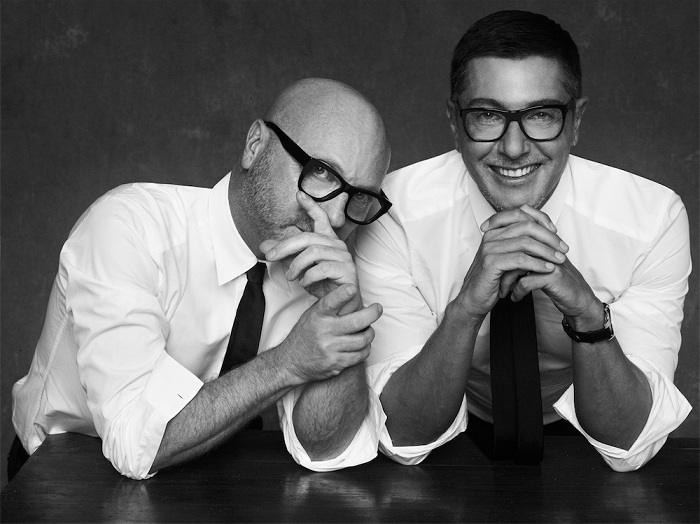 Владельцы модного бренда Dolce&Gabbana.