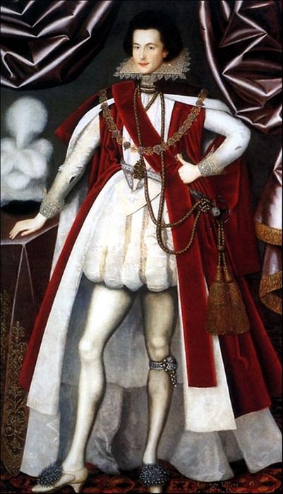Виконт Джордж Вильерс (1616). | Фото: ic.pics.livejournal.com.