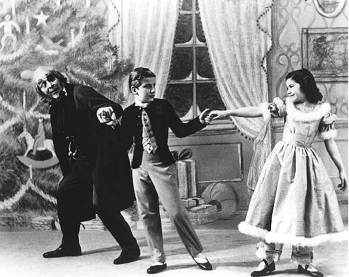 Рождественский «Щелкунчик» в постановке Джорджа Баланчина, 1954 год