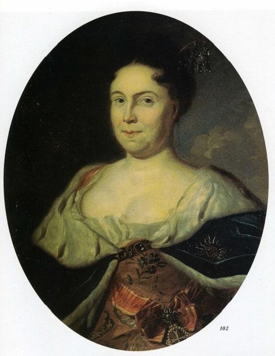 Портрет Екатерины I, Карел де Моора, 1717 год. | Фото: diletant.media.