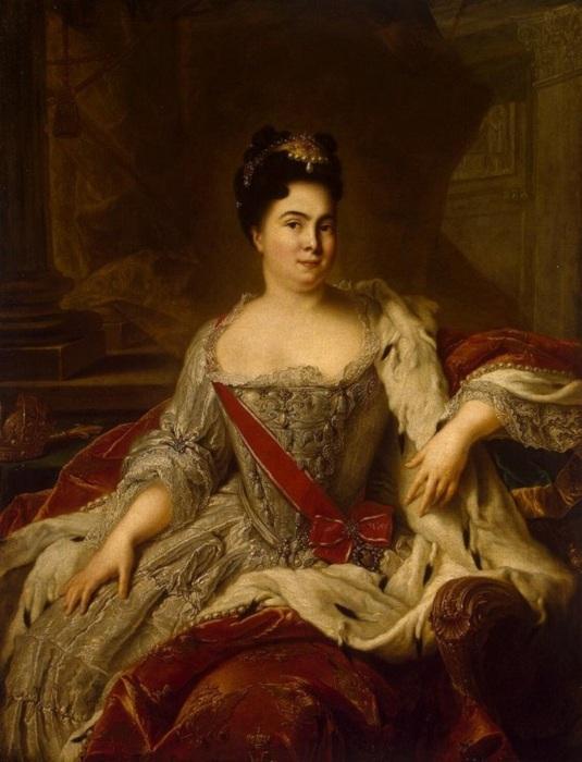 Портрет Екатерины I. Ж.-М. Натье, 1717 год. | Фото: diletant.media.