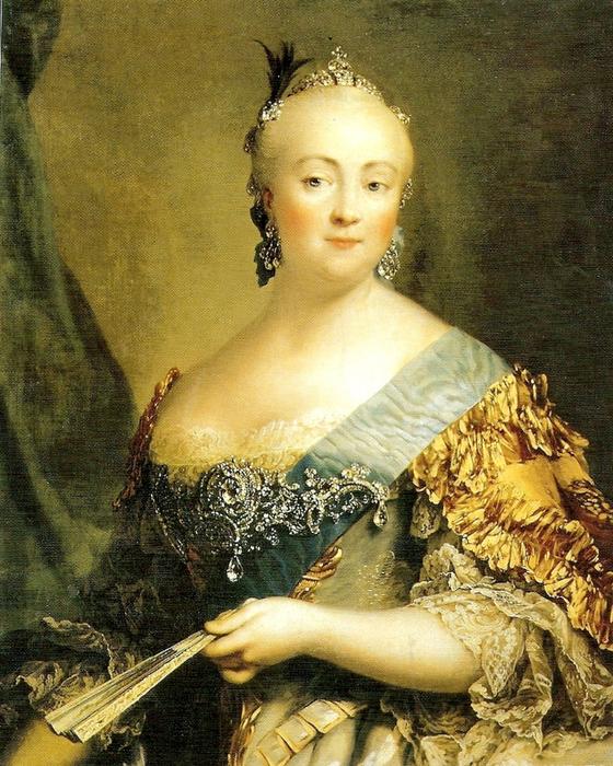 Российская императрица Елизавета Петровна. | Фото: i-w-t.org.
