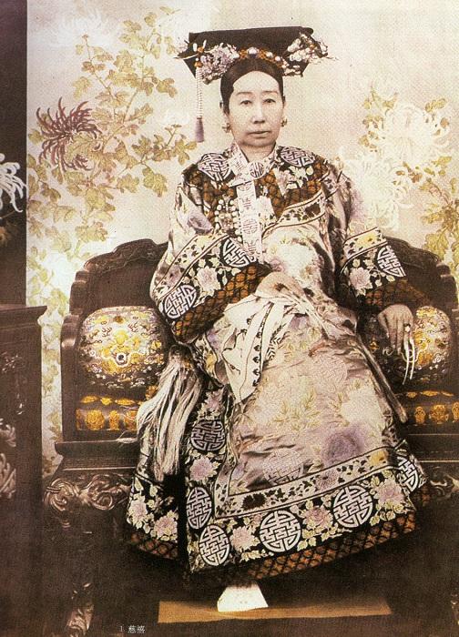 Вдовствующая императрица Цыси.   Фото: upload.wikimedia.org.