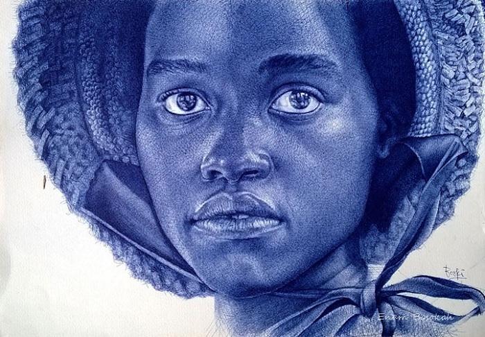 Рисунок художника Enam Bosokah.