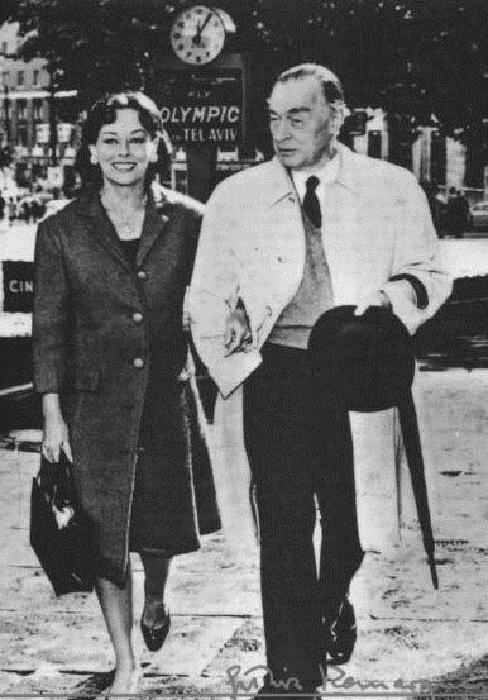 Эрих Мария Ремарк и Полетт Годар. | Фото: diletant.media.
