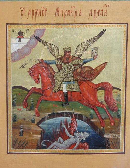 Чудо архангела Михаила. | Фото: upload.wikimedia.org.