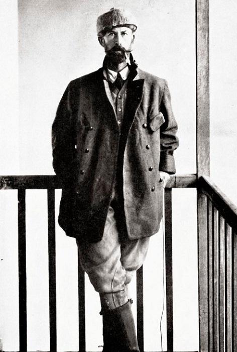 Перси Фосетт - британский исследователь, географ, археолог.   Фото: samlib.ru.