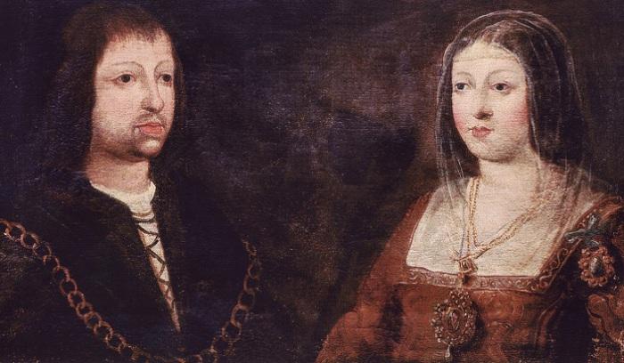 «Католические короли» Изабелла Кастильская и Фердинанд Арагонский.