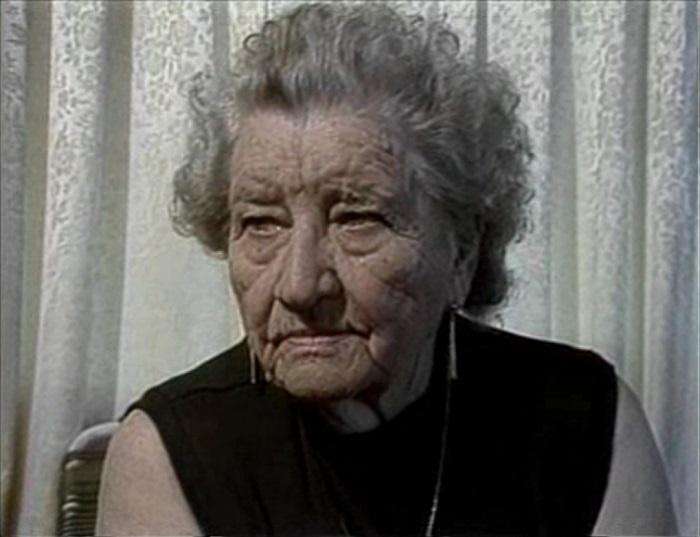 Флоренс Оуэнс Томпсон в старости. | Фото: sites.tufts.edu.