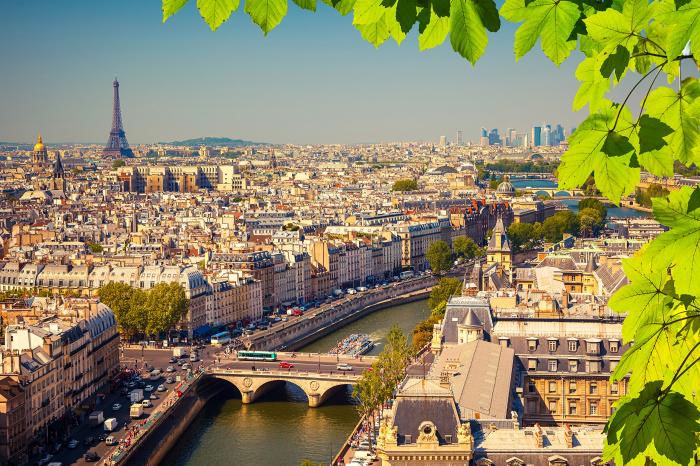 Современный Париж. | Фото: s1.1zoom.ru.