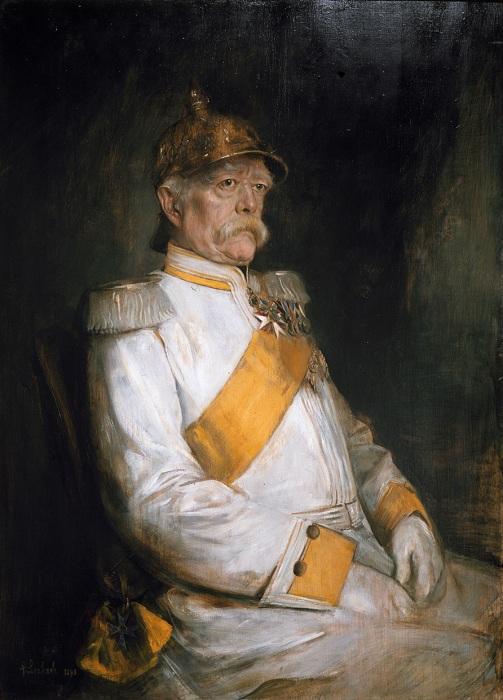 Отто фон Бисмарк. Ф. фон Ленбах, 1890 г. | Фото: upload.wikimedia.org.