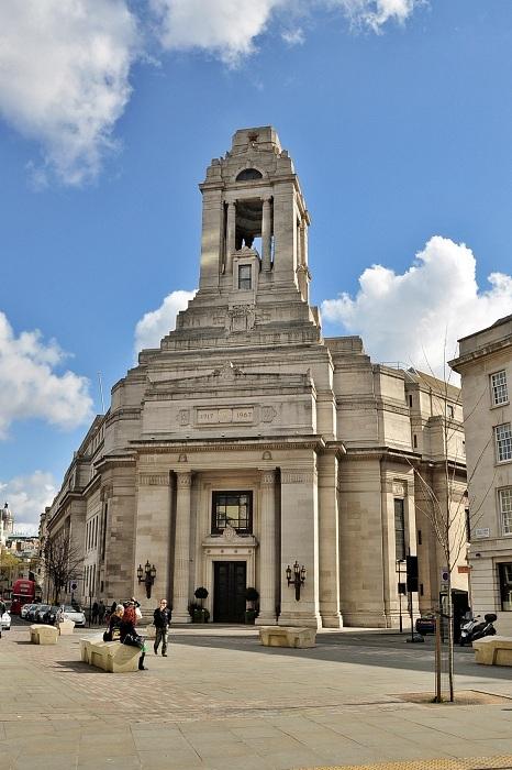 Freemasons Hall - место, где проводят собрания масоны в Лондоне. | Фото: thevintagenews.com.