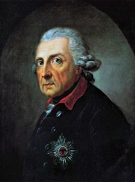 Прусский король Фридрих II Великий.   Фото: ru.wikipedia.org.