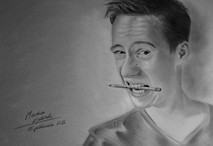 Mariusz Kedzierski. Автопортрет.