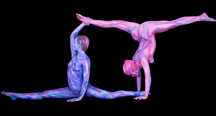 ��������. Bodypainting.