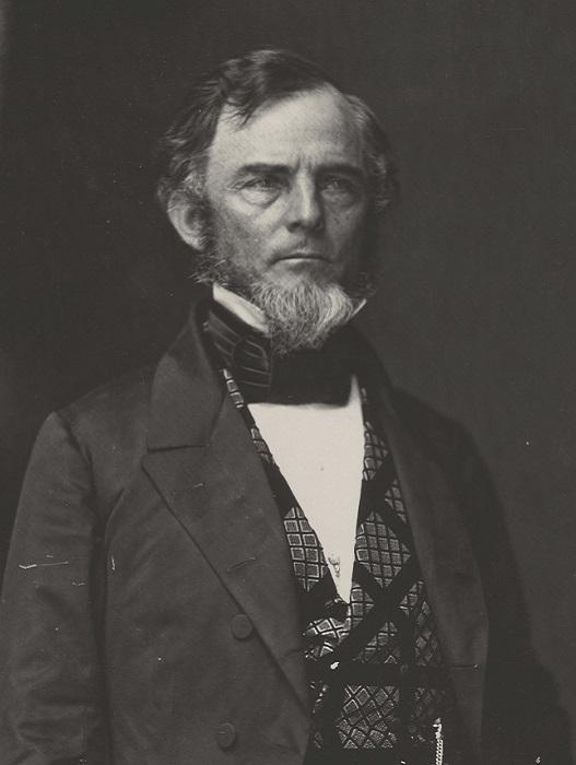 Американский генерал Гидеон Пиллоу. | Фото: ru.wikipedia.org.