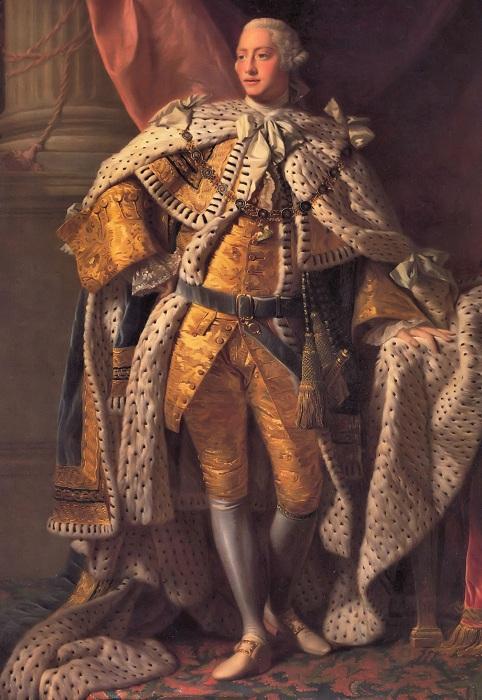 Георг III.   Фото: commons.wikimedia.org.
