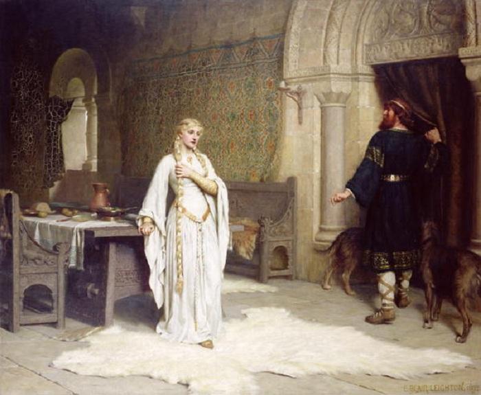 Леди Годива. Э. Лейтон, 1892. | Фото: 1.bp.blogspot.com.