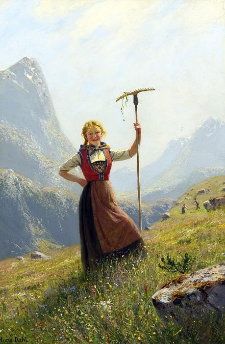 Летний день в горах. | Фото: fiveminutehistory.com.