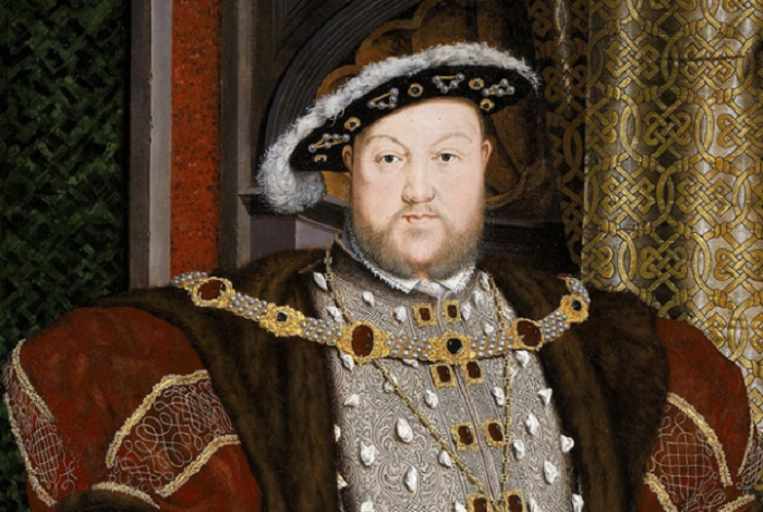 Король Англии Генрих VIII. | Фото: mentalfloss.com.