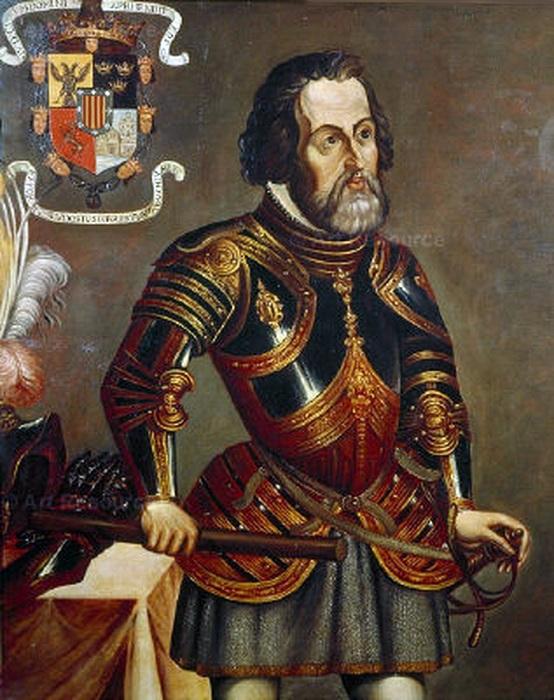 Эрнан Кортес - испанский конкистадор - завоеватель. | Фото: ru.wikipedia.org.