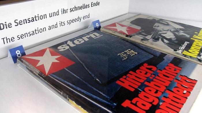 Выпуск журнала «Stern» с публикацией фальшивых дневников Гитлера. | Фото: bc01.rp-online.de.
