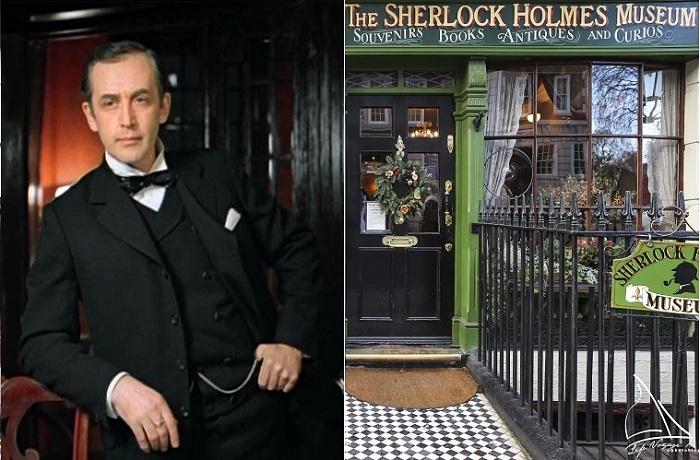 Дом-музей Шерлока Холмса в Лондоне.