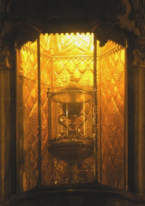 Чаша в кафедральном соборе Валенсии. | Фото: ru.wikipedia.org.