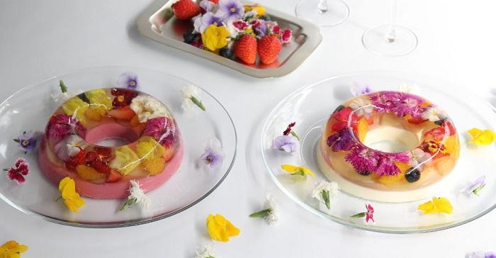 Цветочные десерты.