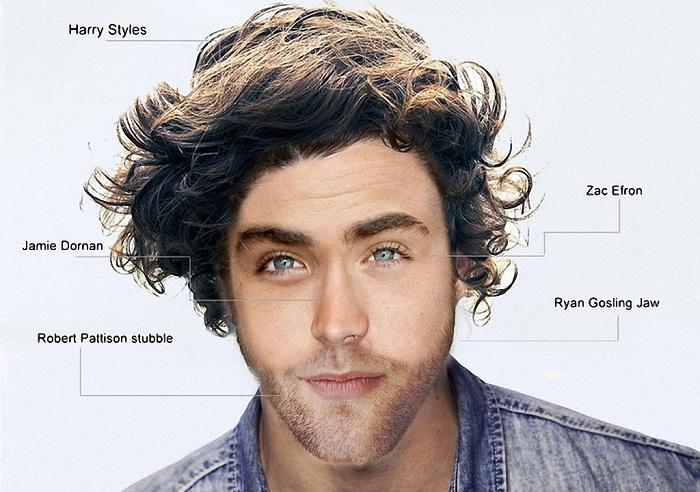 Образ идеального мужчины для категории женщин младше 30 лет.