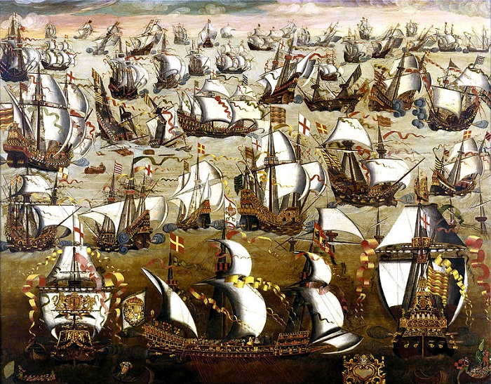 Испанская Непобедимая Армада.