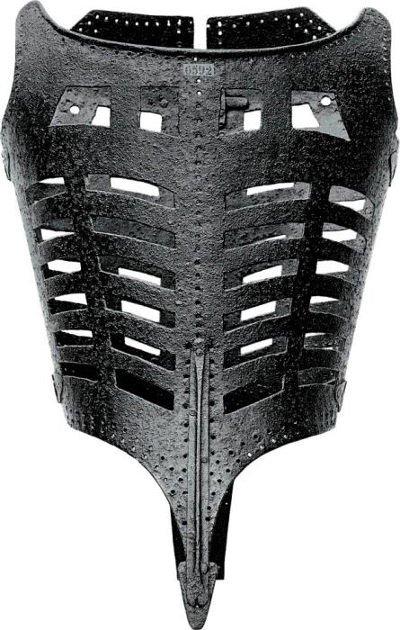 Железный пластинчатый корсет. | Фото: img.wikinut.com.