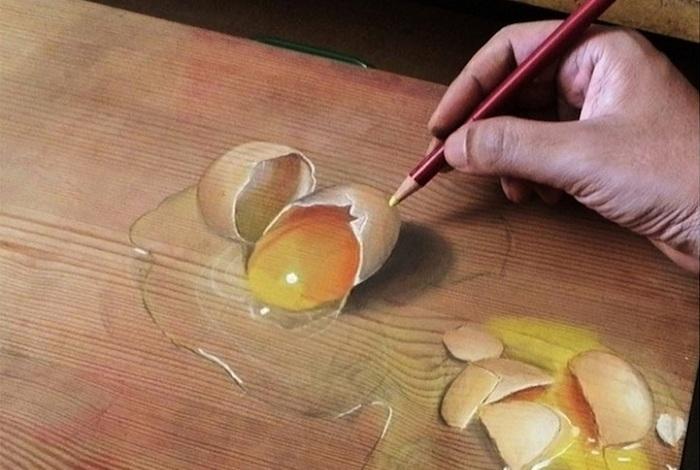Гиперреалистичные рисунки Ivan Hoo.