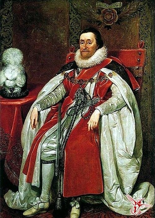 Король Англии Яков I. | Фото: vestnikk.ru.