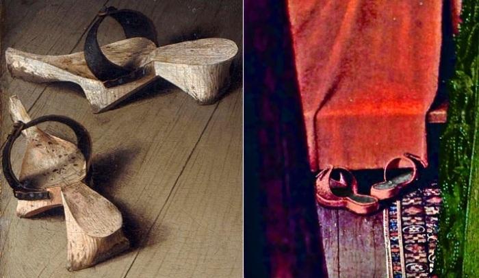 Снятая обувь супругов. | Фото: ru.wikipedia.org.