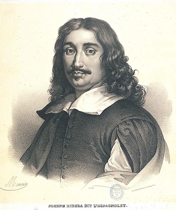 Портрет испанского художника Хосе де Рибера. | Фото: ru.wikipedia.org.