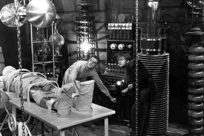 Кадр из к/ф «Франкенштейн», 1931 год. | Фото: kinokritik.com.