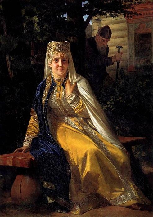 Василиса Мелентьева - 6-я жена Ивана Грозного.