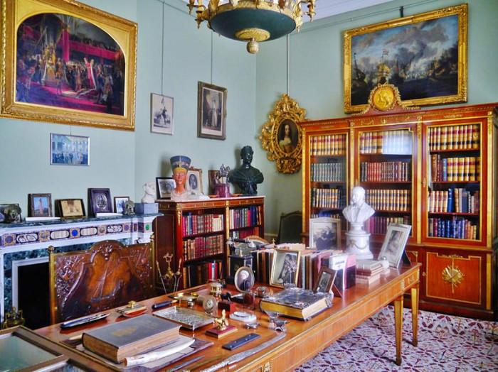 Рабочий кабинет Вильгельма II. | Фото: fiveminutehistory.com.