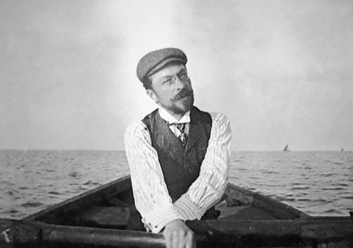 Кандинский в Рапалло (Италия), 1905 год. | Фото: wassilykandinsky.net.