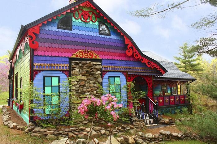 «Радужный» дом.