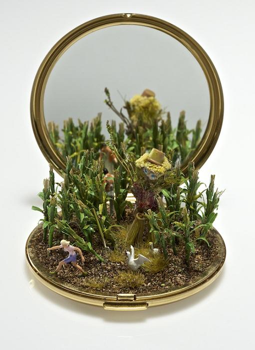 Оригинальная миниатюрная композиция.