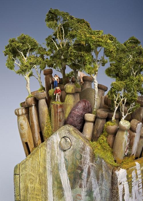 Миниатюра, сделанная австралийской художницей Кендал Мюррей.