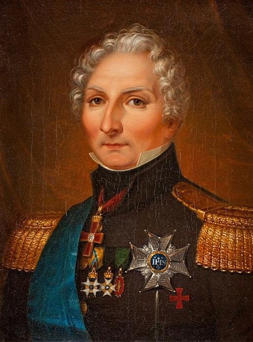 Карл-Юхан XIV - король Швеции и Норвегии, а в прошлом - маршал Франции. | Фото: img1.artgalleryenc.com.