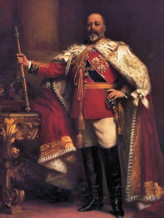 Король Эдуард VII. Коронация. | Фото: talismancoins.com.