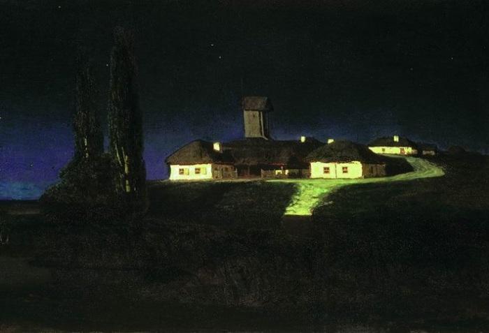 Украинская ночь. Архип Куинджи, 1876 год. | Фото: diletant.media.