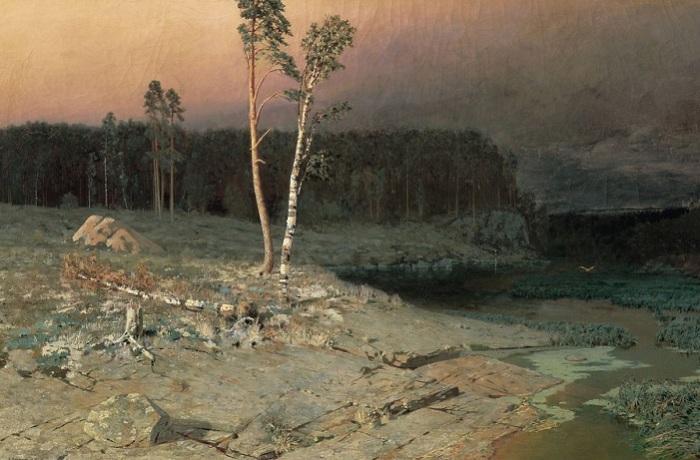 На острове Валааме. Архип Куинджи, 1873 год. | Фото: diletant.media.