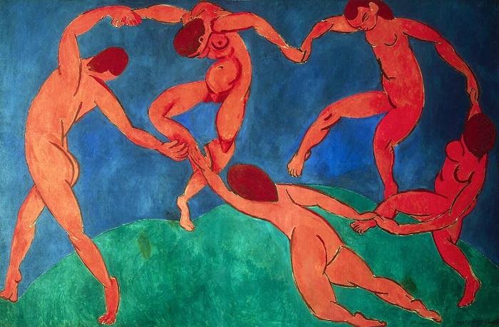 Танец. Анри Матисс, 1910 год. | Фото: artelio.ru.