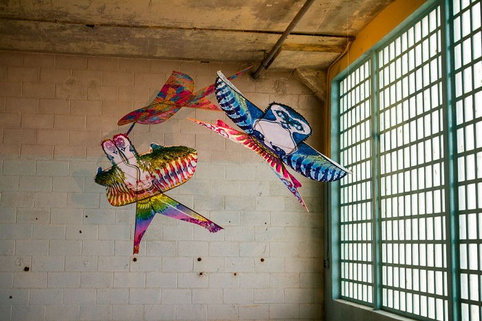 Воздушные змеи - символы свободы.