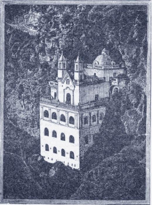 Вид Собора Лас-Лахас до перестройки в 1916 году. | Фото: j-times.ru.